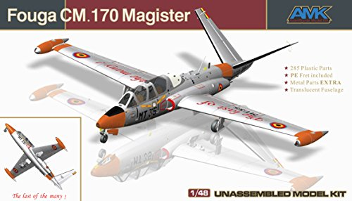 AvantGarde Model Kits 1/48 Fouga CM.170 Magister French Two Seat Jet Trainer Building Kit
