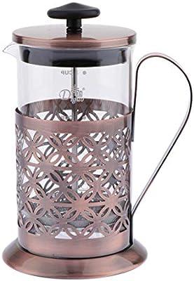 HomeDecTime Cafetera 350 Ml De Acero Inoxidable, Prensa De Café ...
