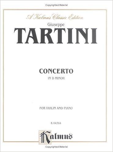 Violin Concerto in D Minor (Kalmus Edition)