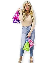 Tie-dyed Camouflage Drawstring Tote Bags Party Favors Arts & Crafts
