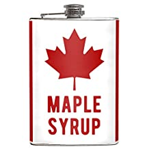 Canadian Maple Syrup 8oz Hip Flask