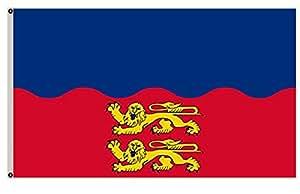 Gran bandera departamento de Calvados en Francia bandera 3x 5Banner