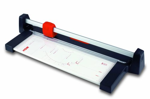 HSM Cutline T-Series T4610 Rotary Paper Trimmer, Cuts Up to 10 Sheets ()