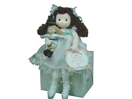 Musical Nutcracker Dress - Clara Musical Doll