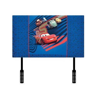 (Kidz World Disney's Cars 2 Twin Upholstered Headboard by Kidz)