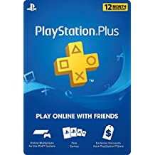 Sony Computer Entertainment PS Plus 12 Month Subscription Card - Live - 12-Month PlayStation Network Membership Edition