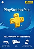 1 Year Playstation Plus PSN Membership Card