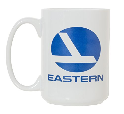 (Eastern Airlines EAL Large Aviation Pilot 15 oz Double-Sided Coffee Tea Mug (Eastern Air) )
