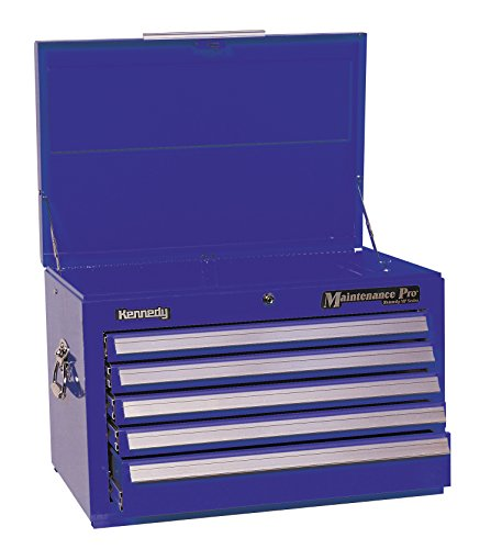 Kennedy Manufacturing 2702MPBL 27'' 6-Drawer Maintenance Pro Roller Cabinet, Industrial Blue by Kennedy Manufacturing