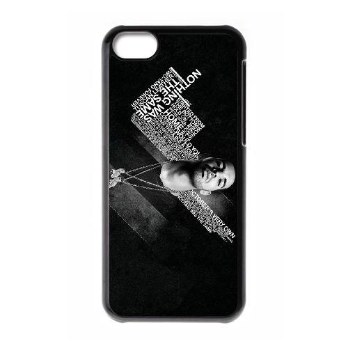 Drake 007 coque iPhone 5C Housse téléphone Noir de couverture de cas coque EOKXLLNCD18777