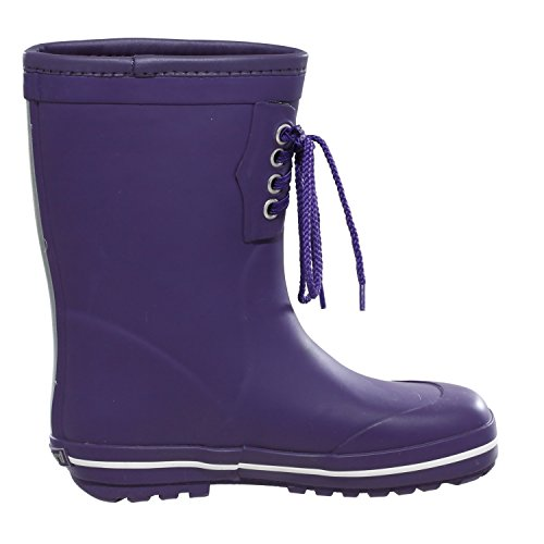 Bundgaard Kids Classic Rubber Boots Warm Rubberboots Purple Purple