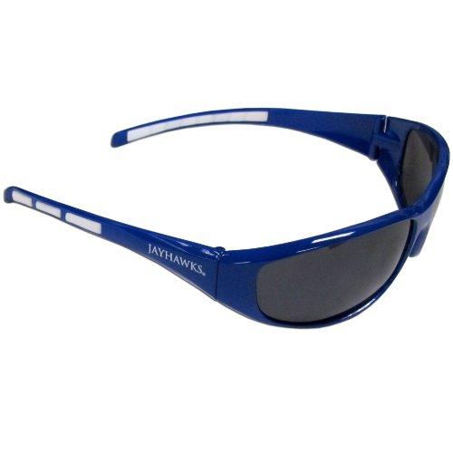 - Siskiyou NCAA Kansas Jayhawks Wrap Sunglasses