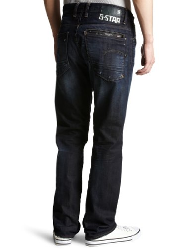 Straight G Wash Raw Jeans Blue 2669 star Travis Xattacc 539 uomo da 66RUrtac