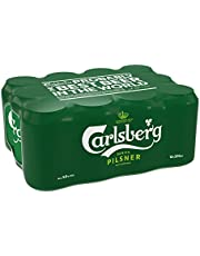 Carlsberg Green Label Can Beer, 320ml (Pack of 12)