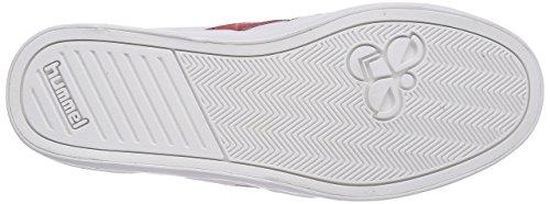 hummel HUMMEL DEUCE COURT SPORT - zapatilla deportiva de material sintético unisex blanco - Weiß (White 9001)