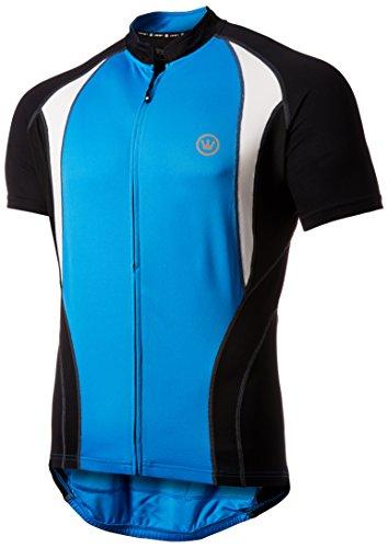 Canari Men's Jorah Jersey, Azure Blue, (Canari Lightweight Jersey)