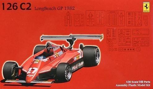1 20 Ferrari 126 CK Spanish Grand Prix Clear Body Specification (Model Car) Fujimi GPSP-4 Grand Prix Series Spot B001OC74WU Miniaturmodelle Ideales Geschenk für alle Gelegenheiten  | Outlet Store