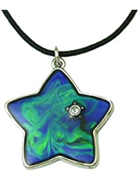 Tapp Collections™ Mood Pendant Necklace - Star with a Crystal