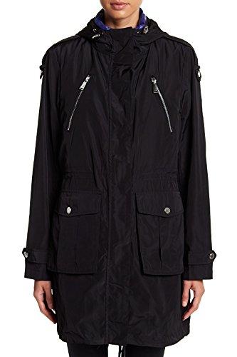 航空機軍無意識(BCB ジェネレーション)BCBGeneration Women`s Anorak Down Vest Jacket Black 女性のAnorakダウンベストジャケット(並行輸入品)