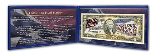 Pearl Harbor Two Dollar Bill Folder