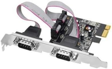 Dual PCIe 2-Port RS232