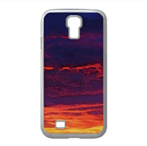 Beautiful Sky Watercolor style Cover Samsung Galaxy S4 I9500 Case (Sun & Sky Watercolor style Cover Samsung Galaxy S4 I9500 Case) by icecream design