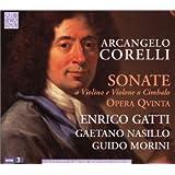 Corelli: sonate a violino e violone o cimbalo opera quinta [Import anglais]