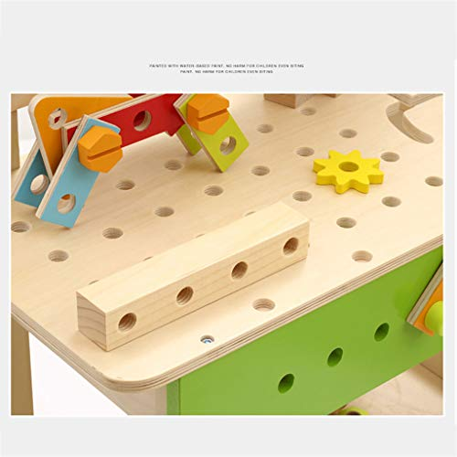 ZYN Children's Tool Chair Puzzle Hand Toy Large Screw Cap Combination Packages by ZYN (Image #4)