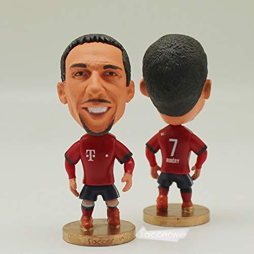 7# Ribery (BM-2019) Dolls Figurine| Football Star |Size 2.5 inch