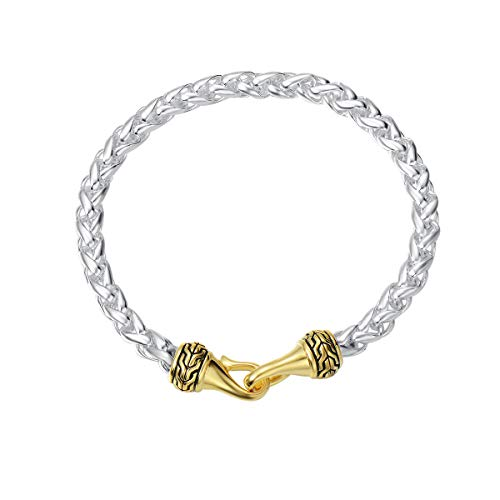 UNY Fashion Antique Vintage Trendy Designer Inspired Chain Bracelet Jewelry Womens Christmas Unique Gifts