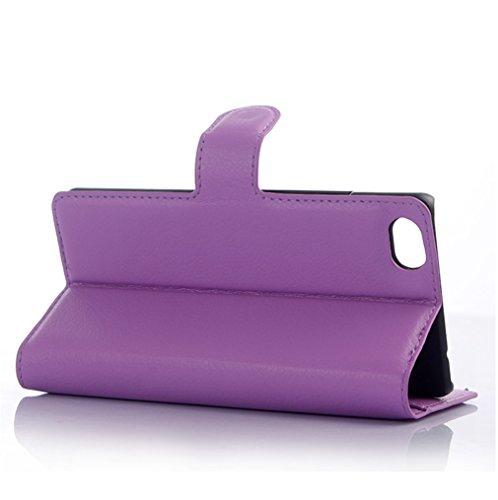 Funda ZTE Nubia Z9 mini,Manyip Caja del teléfono del cuero,Protector de Pantalla de Slim Case Estilo Billetera con Ranuras para Tarjetas, Soporte Plegable, Cierre Magnético C