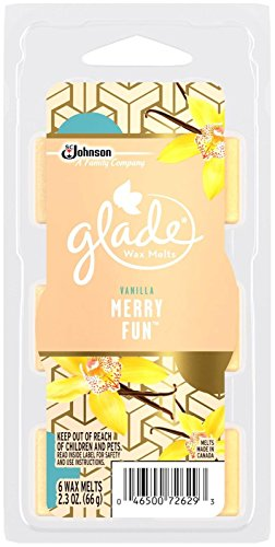 Glade Wax Melts Air Freshener Refill, Merry Fun, 2.3 (Liquid Candle Wax Refill)