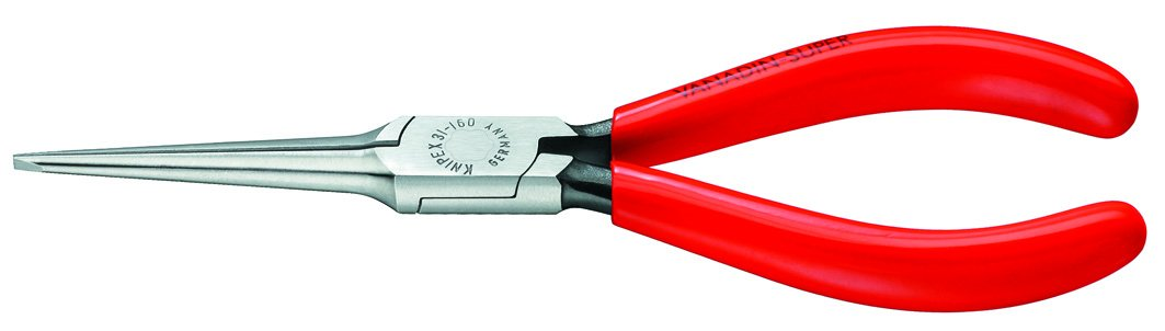 Knipex 3111160 Needle Nose Pliers, 6.25 Inch by KNIPEX Tools