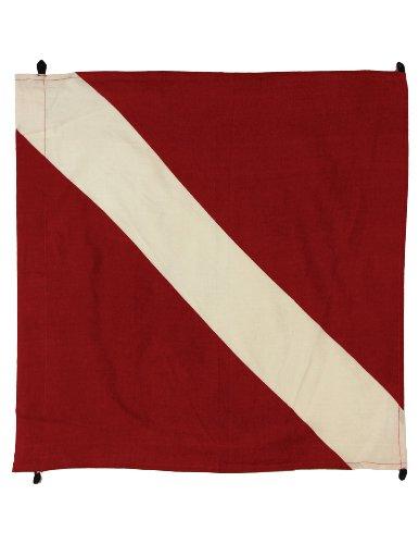 [Sunshine Joy Diver Down Dive Flag Bandana Red] (Scuba Diver Costumes)