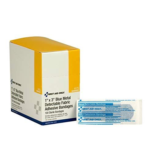 FAOH175 - Adhesive Blue Metal Detectable Bandages ()