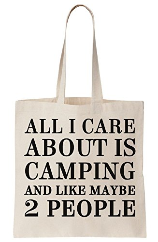 Like All About Camping Is Canvas Care People Maybe And Bag I 2 Tote r4Bw4Yxqnp