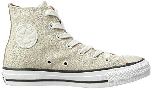 Chuck Star Beige Black Sneaker Collo all White Unisex Putty Alto a Taylor Converse Pale Adulto dnORd
