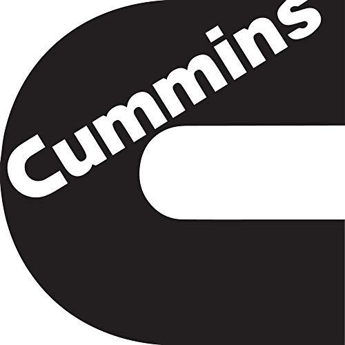 NBFU DECALS Logo Cummins (Black) (Set of 2) Premium Waterproof Vinyl Decal Stickers for Laptop Phone Accessory Helmet CAR Window Bumper Mug Tuber Cup Door Wall Decoration