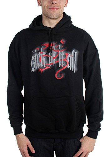 Sick Of It All - Mens Olde English Dragon - Pullover Hoodie, Size: Medium, Color: (Sick Of It All Dragon)