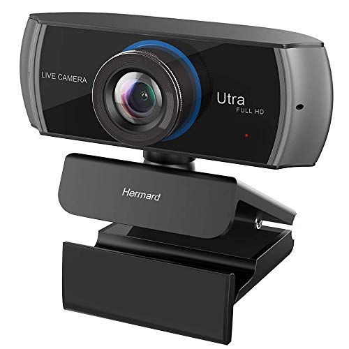 Full HD Webcam 1080P/1536P, Widescreen Video Calling and Recording, Digital Web Camera with Microphone, Stream Cam for PC, Laptops and Desktop (Best Hd Camera For Skype)