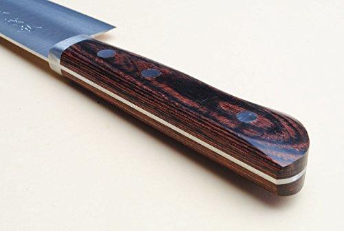 Yoshihiro VG-1 Gold Stainless Steel Gyuto Japanese Chef Knife 7'' (180mm) by Yoshihiro (Image #4)