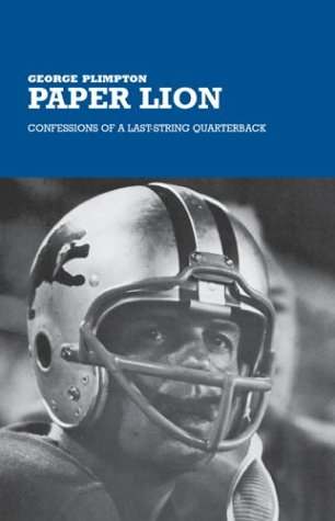 Book cover for Paper Lion