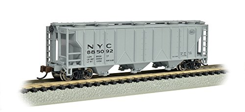 Bachmann Industries PS-2 NYC Three-Bay Covered Hopper Vehicle (N ()