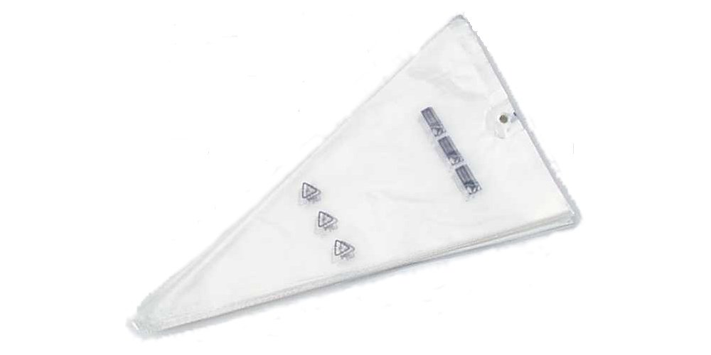 Disposable Soft & Flexible Pastry Bag 22'' long, 100 Pieces