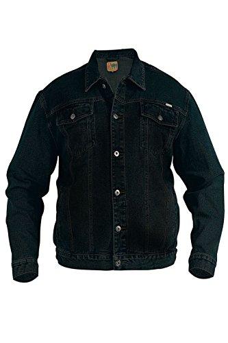 Da Nuovo Jeans D555 Nero Giacca Western Denim Classico Di Stile Duke Uomo Trucker Spqnn1