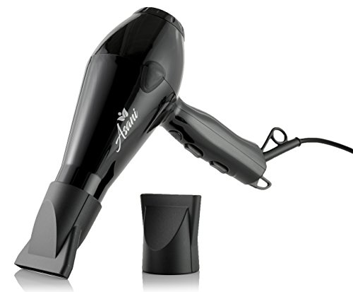 Professional Hair Dryer with Anti-Frizz Ionic Conditioning | Extra-Fast & Powerful Heat Blow Dryer | Compact/Lightweight Blow dryer | Salon-Grade Electric Hair dryer for Women & Girls
