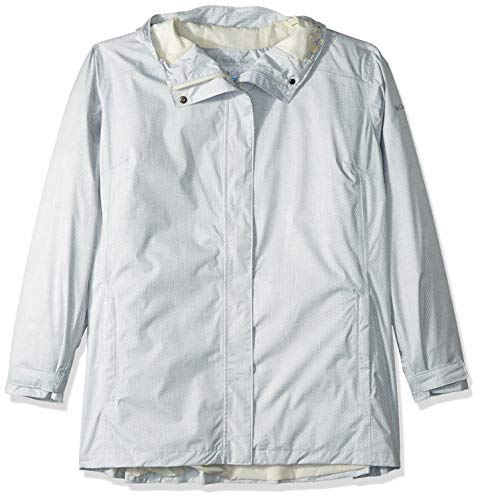 Columbia Splash A Little Ii Plus Size Jacket, 2X, Light Bisque Stars Print ()