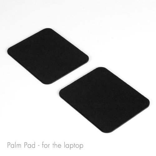 GRIFITI Palm Pads are Apple MacBook Wrist Rests and Notebook, Netbook, and Laptop Wrist Pads Made with Silicone to Easily Reposition and Remove while Travelling Comes with Protective Film Over Tacky Silicone Areas so remove the film Photo #2