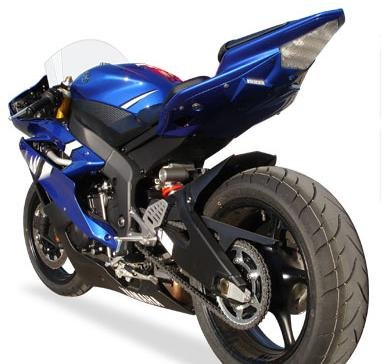 Hotbodies Racing S04GS-SB-LTDBLU Blue ABS Undertail with Built-In LED Signal Lights