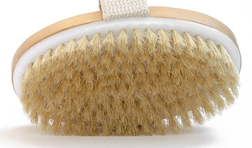 Dry-Skin-Body-Brush-Improves-Skins-Health-And-Beauty-Natural-Bristle-Remove-Dead-Skin-And-Toxins-Cellulite-Treatment-Improves-Lymphatic-Functions-Exfoliates-Stimulates-Blood-Circulation